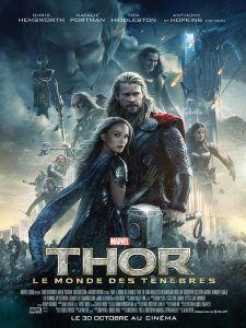 affiche poster du film thor le monde des tenebres