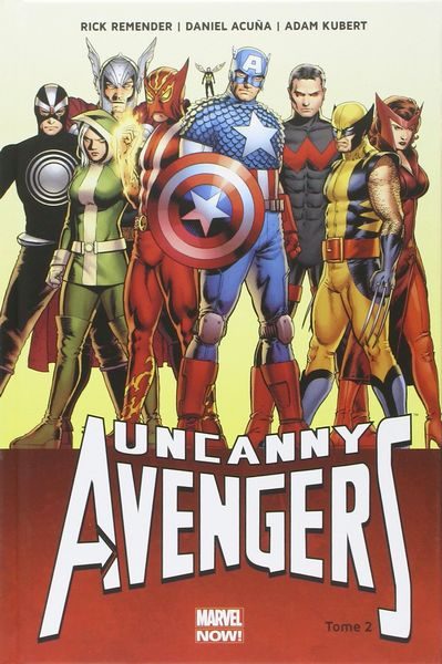 uncanny avengers tome 2