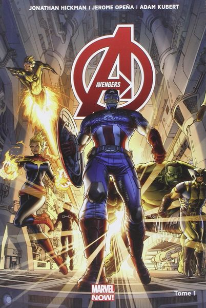 avengers tome 1 panini marvel