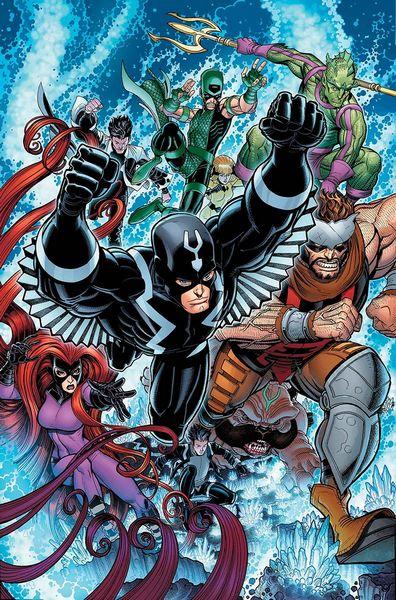 inhumains marvel comics