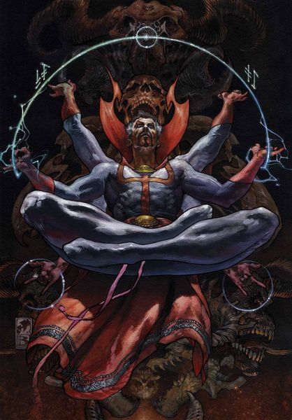 New Avengers 15 Doctor Strange