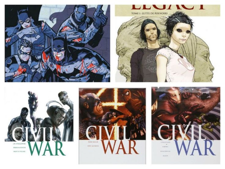 batman eternal jupiter legacy civil war marvel